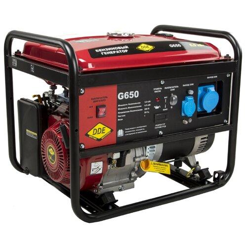 Бензиновый генератор DDE G650