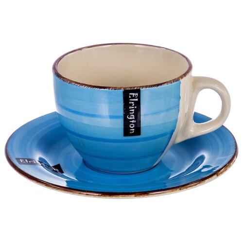 Elrington Чашка с блюдцем Яркое
