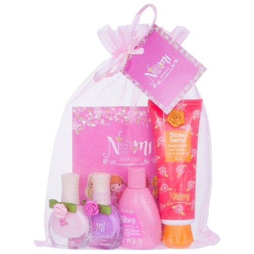 Набор косметики Nomi Розовое набор детской косметики nomi beauty box 5