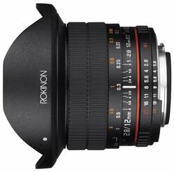Объектив Rokinon 12mm f/2.8 ED AS IF NCS UMC Fisheye AE Nikon (12M-N)