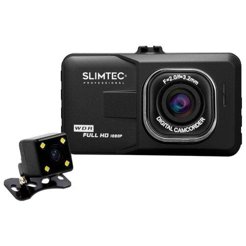 Видеорегистратор Slimtec Dual видеорегистратор зеркало slimtec dual m7