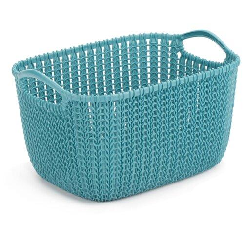 Фото - CURVER Корзина Knit 30x22x17см корзина для хранения curver knit 3 л прямоугольная голубой