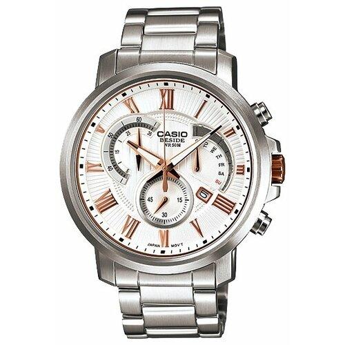 Наручные часы CASIO BEM-506BD-7A casio casio bem 100sg 7a