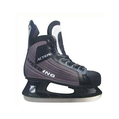 Хоккейные коньки Action PW-216DN коньки хоккейные action pw 216ae р 42