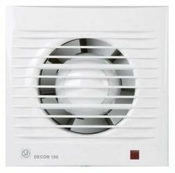 Вытяжной вентилятор Soler & Palau DECOR 100 CRZ ECOWATT 5 Вт