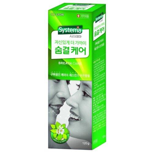 Зубная паста CJ Lion Systema cj lion зубная паста dentor systema для глубокой чистки для слабых десен 120 г