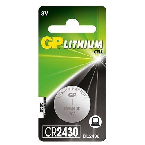 Фото - Батарейка GP Lithium Cell CR2430 батарейка gp lithium cr123a