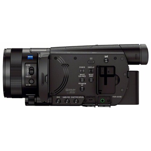 Фото - Видеокамера Sony FDR-AX100E видеокамера sony hdr cx405b black 30x zoom 9 2mp cmos 2 7 os avchd mp4 [hdrcx405b cel]