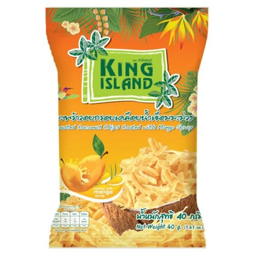 Чипсы King Island кокосовые с фото