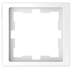 Рамка 1п Schneider Electric Merten D-Life MTN4010-6535, белый