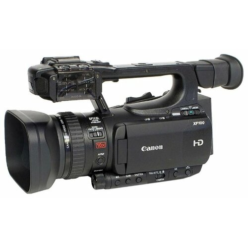 Фото - Видеокамера Canon XF100 видеокамера ip hikvision ds 2de3204w de 2 8 12мм цветная корп белый