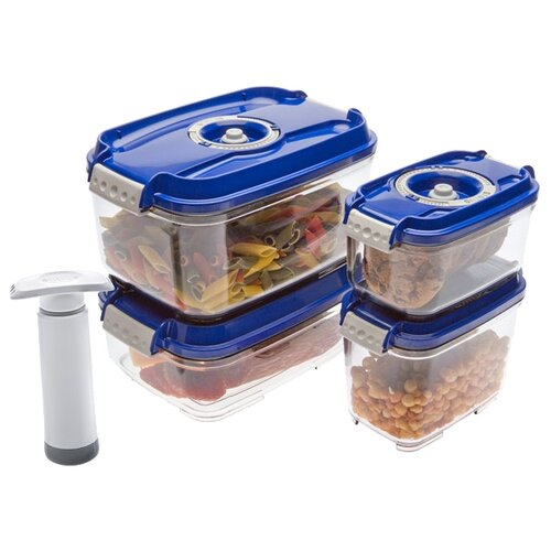 Фото - STATUS Набор вакуумных набор пищевых вакуумных контейнеров wonder life wl s3 p 4 предмета