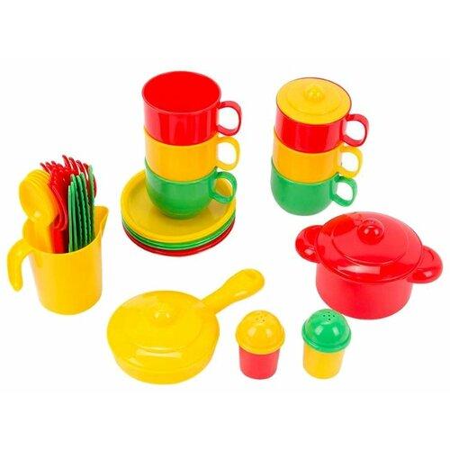 Фото - Набор посуды Полесье Хозяюшка полесье набор игрушек для песочницы 468 цвет в ассортименте