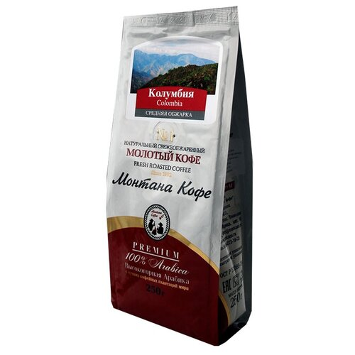 Кофе молотый Монтана Кофе кофе молотый бон кафе 250г