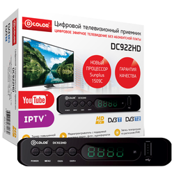 TV-тюнер D-COLOR DC922HD