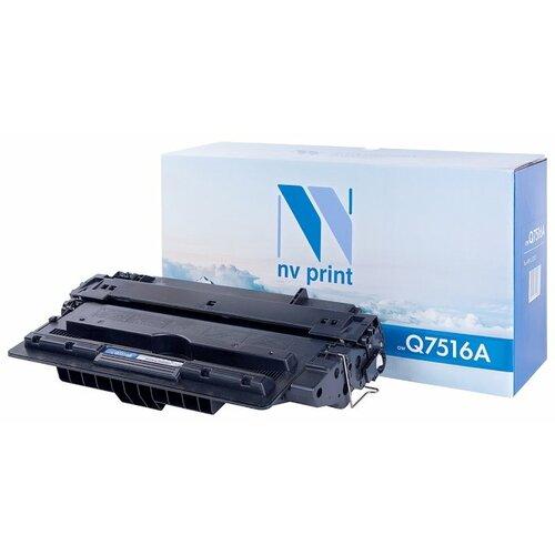 Фото - Картридж NV Print Q7516A для HP картридж nv print cf380x для hp