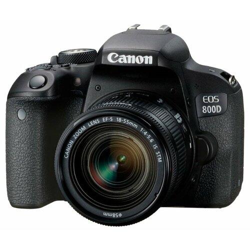 Фото - Фотоаппарат Canon EOS 800D Kit фотоаппарат canon eos 800d kit 18 55 is stm
