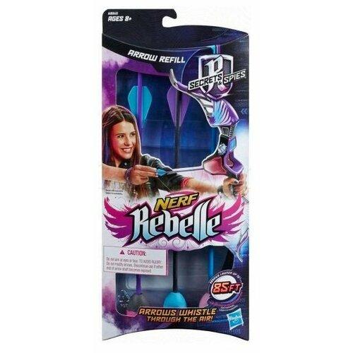 Стрелы Nerf Rebelle Секреты и лук nerf rebelle яркое приключение b8213eu4