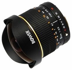 Объектив Bower 8mm f/3.5 Nikon F