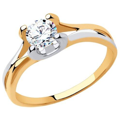 SOKOLOV Кольцо из золота 018390 sokolov кольцо из золота 018390 размер 18 5