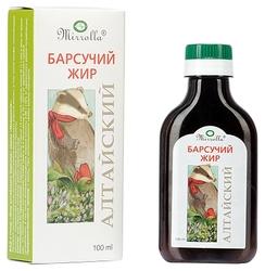 Барсучий жир Mirrolla Алтайский 100 мл