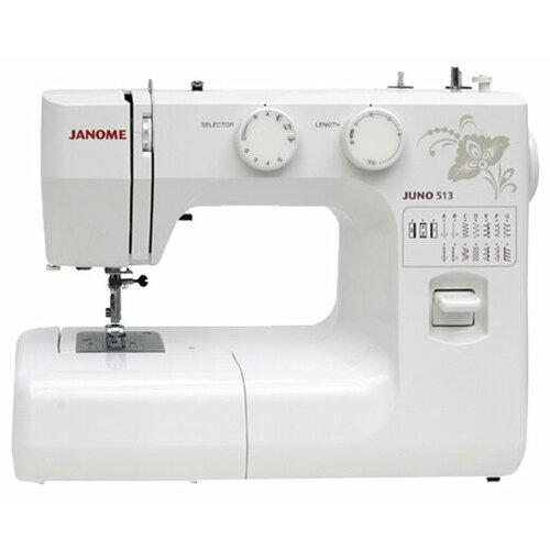 Швейная машина Janome Juno 513 швейная машина janome 513