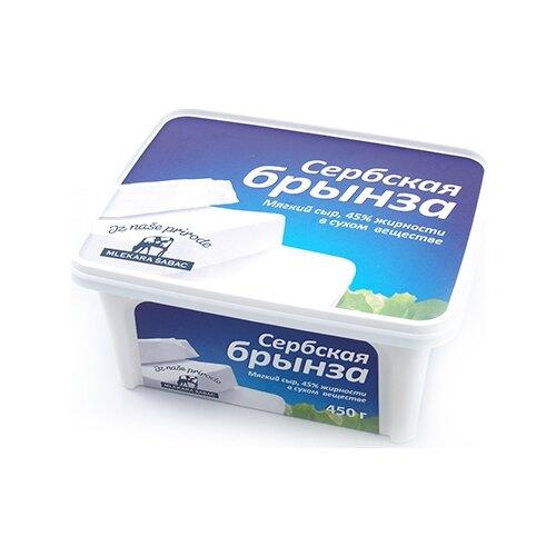 Сыр Mlekara Sabac брынза дар гор сыр брынза с чёрными и зелёными плодами оливы в масле 40% 250 г