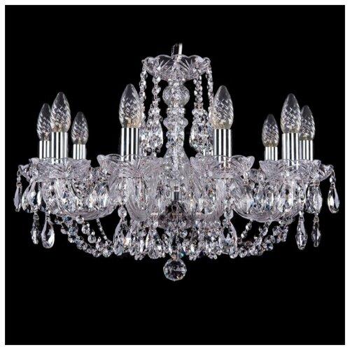 Bohemia Ivele Crystal 1406 10 подвесная люстра bohemia ivele 1406 10 240 ni leafs
