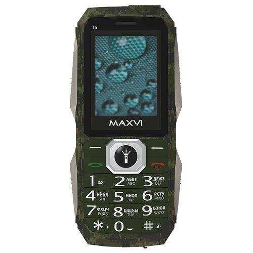 Телефон MAXVI T5 сотовый телефон maxvi b6 red