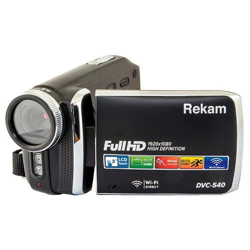 Фото - Видеокамера Rekam DVC-540 видеокамера rekam dvc 340 black