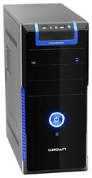 Компьютерный корпус CROWN MICRO CM-33 500W Black/blue