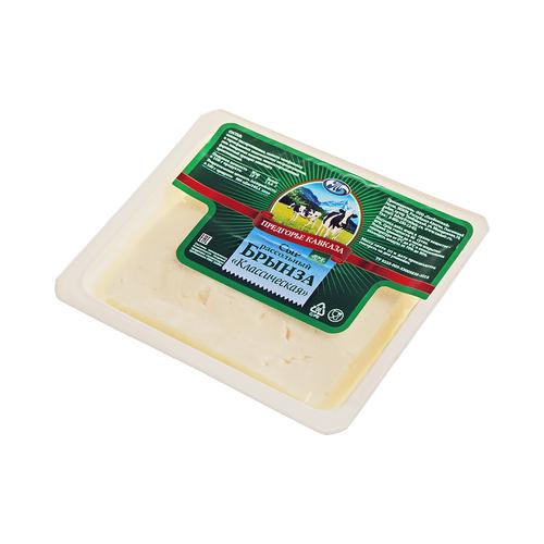 Сыр Предгорье Кавказа брынза дар гор сыр брынза с чёрными и зелёными плодами оливы в масле 40% 250 г