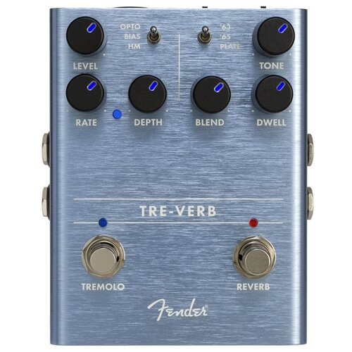 Fender Педаль Tre-Verb Digital verb morphology