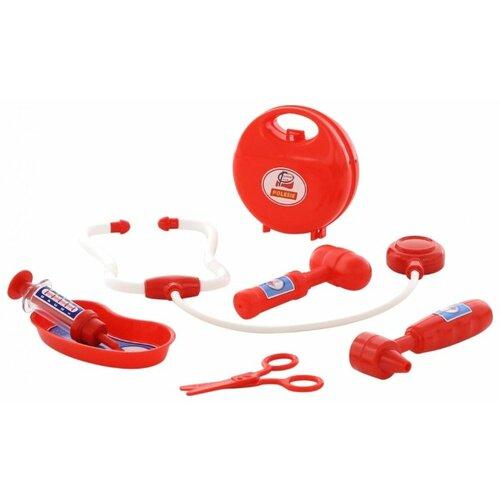 Фото - Набор доктора Полесье 59215 полесье набор игрушек для песочницы 468 цвет в ассортименте