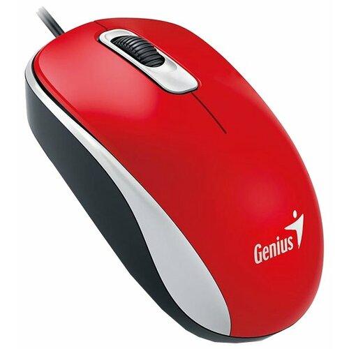 Мышь Genius DX-110 Red USB фото