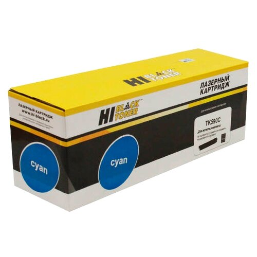 Фото - Картридж Hi-Black HB-TK-590C картридж hi black hb tk 590m
