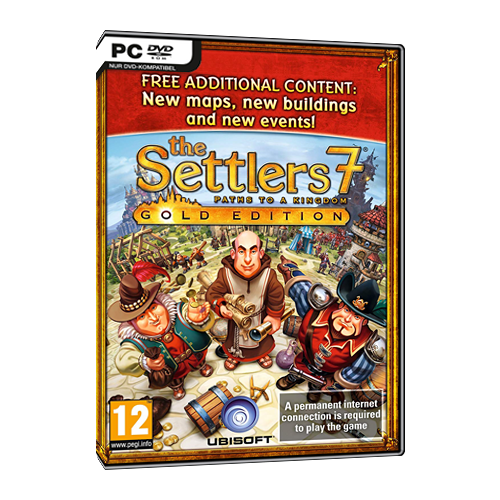 The Settlers 7. Deluxe Gold new settlers new transnationals