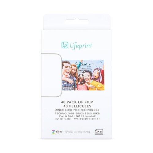Фото - Бумага A7 40 шт. Lifeprint PH31 портативный принтер lifeprint с функцией мгновенной печати размер фотографий 2x3 цвет белый lifeprint photo and video printer 2x3 white