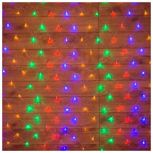 Гирлянда NEON-NIGHT Сеть 96 LED гирлянда neon night мишура светодиодная 288 led цвет прозрачный розовый 3 м