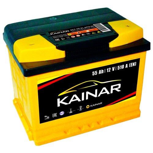 Фото - Аккумулятор Kainar 6СТ-55 VL аккумулятор катод extra start 6ст 62n l l2