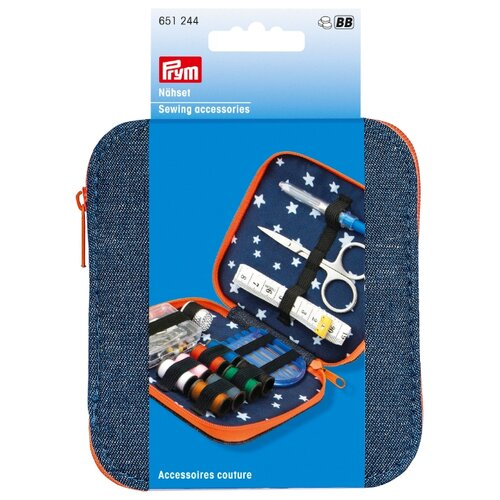 Prym Набор для шитья Деним 73 шт. клик бокс prym для хранения принадлежностей для шитья рукоделия и хобби