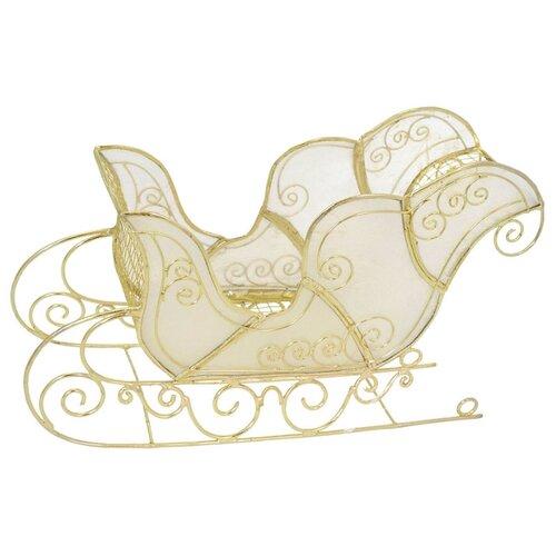 Фото - Фигурка Winter Wings Сани 11 см украшение winter wings сумочка 11 9 5 см 1 шт полиэстер