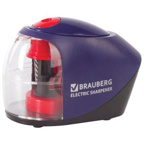 BRAUBERG Точилка электрическая точилка turbo twist электрическая