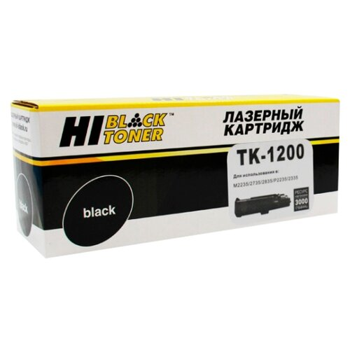 Фото - Картридж Hi-Black HB-TK-1200 картридж hi black hb cf212a