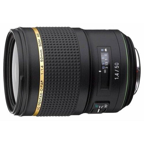 Фото - Объектив Pentax D FA 50mm f 1.4 объектив