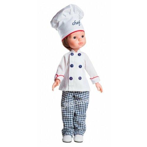 Кукла Paola Reina Карлос повар paola reina кукла paola reina карлос повар 32 см