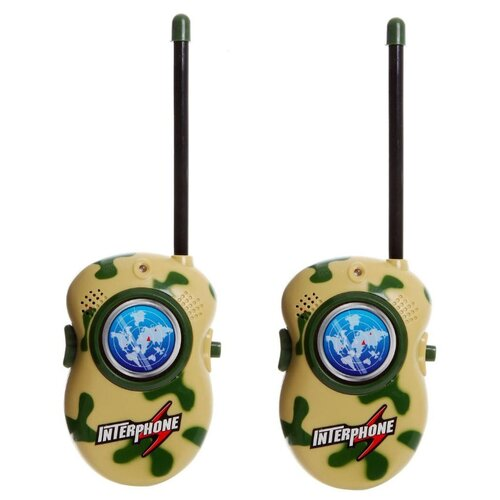 Рация Shenzhen Toys Walkie рация xiaomi walkie talkie 1s mjdjj03fy белый