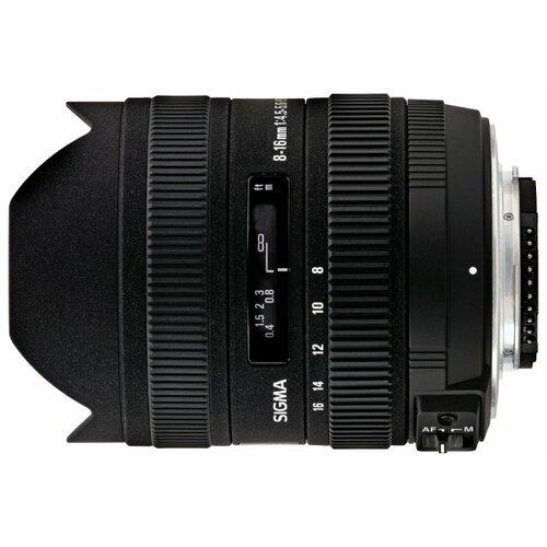 Фото - Объектив Sigma AF 8-16mm f объектив
