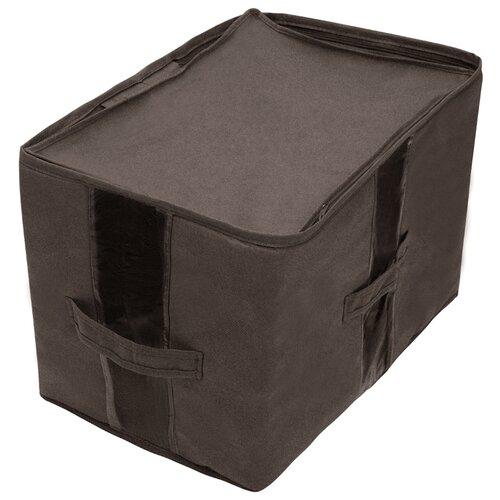 Всё на местах Кофр для вещей всё на местах кофр для вещей прага 30х45х30 см коричневый