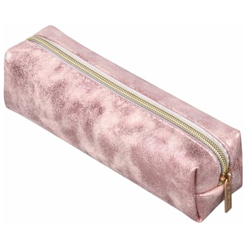BRAUBERG Пенал-косметичка Luxury пенал brauberg рыжая лиса 20 13 см